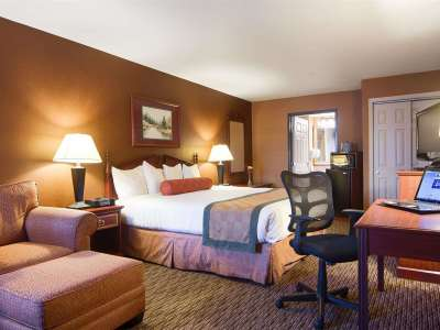 bedroom - hotel best western exeter inn and suites - exeter, california, united states of america