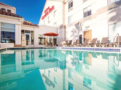 outdoor pool - hotel hilton garden inn irvine e lake forest - foothill ranch, united states of america
