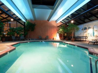indoor pool - hotel crowne plaza foster city san mateo - foster city, united states of america