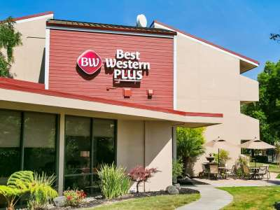 exterior view - hotel best western plus garden court inn - fremont, california, united states of america