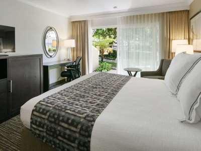 bedroom - hotel best western plus garden court inn - fremont, california, united states of america