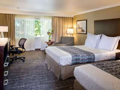 bedroom 1 - hotel best western plus garden court inn - fremont, california, united states of america