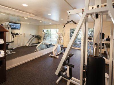 gym - hotel best western plus garden court inn - fremont, california, united states of america