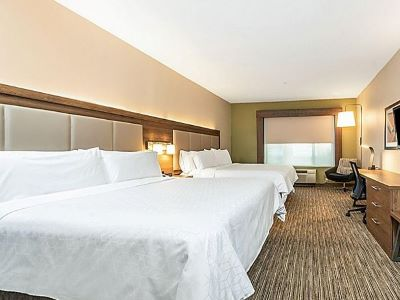 bedroom 2 - hotel holiday inn exp suites milpitas central - fremont, california, united states of america