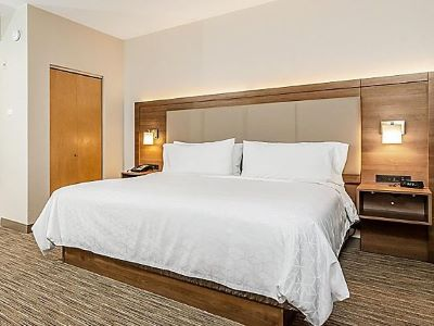bedroom - hotel holiday inn exp suites milpitas central - fremont, california, united states of america