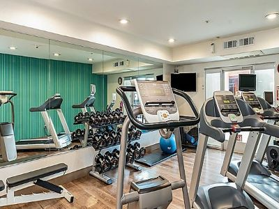 gym - hotel holiday inn exp suites milpitas central - fremont, california, united states of america