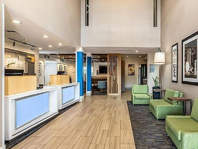 lobby - hotel holiday inn exp suites milpitas central - fremont, california, united states of america