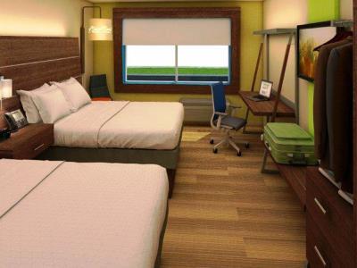 bedroom - hotel holiday inn express fullerton - anaheim - fullerton, united states of america