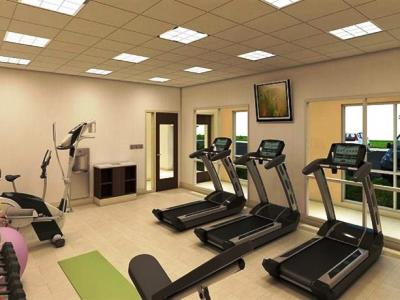 gym - hotel holiday inn express fullerton - anaheim - fullerton, united states of america