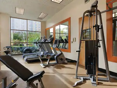 gym - hotel embassy suites anaheim south - garden grove, united states of america