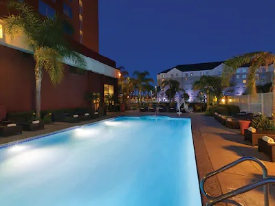 outdoor pool - hotel embassy suites anaheim south - garden grove, united states of america