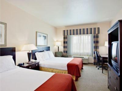 bedroom 1 - hotel holiday inn express garden grove - garden grove, united states of america