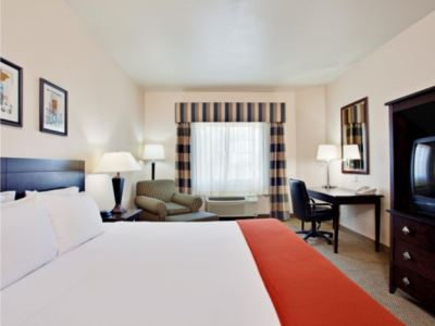 bedroom - hotel holiday inn express garden grove - garden grove, united states of america
