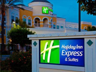 exterior view 1 - hotel holiday inn express garden grove - garden grove, united states of america