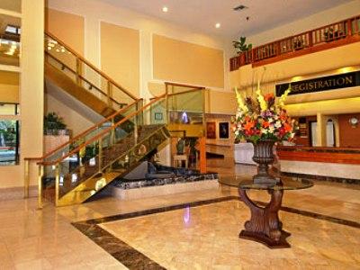lobby - hotel ramada plaza garden grove - garden grove, united states of america