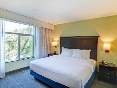 bedroom - hotel embassy suites valencia - santa clarita, united states of america