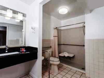 bathroom - hotel days inn by wyndham wilmington/newark - wilmington, delaware, united states of america
