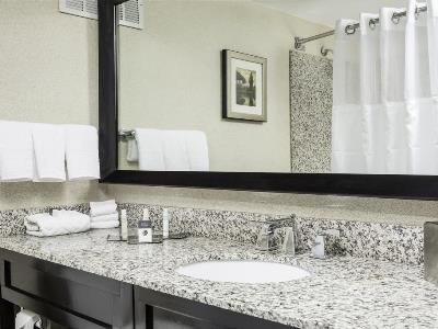 bathroom - hotel doubletree by hilton hotel wilmington - wilmington, delaware, united states of america
