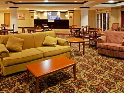 lobby - hotel holiday inn express brooksville west - brooksville, united states of america