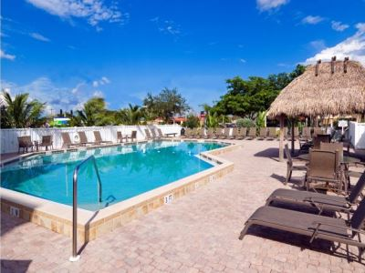 outdoor pool - hotel holiday inn exp cape coral fort myers - cape coral, united states of america