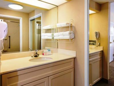 bathroom 1 - hotel hampton inn and suites amelia island - fernandina beach, united states of america