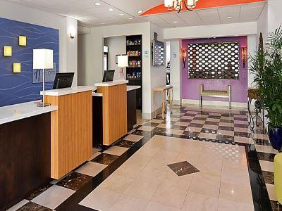 lobby - hotel holiday inn exp suites gateway to keys - florida city, united states of america
