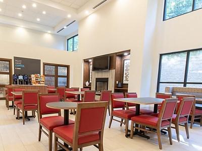 breakfast room - hotel holiday inn express johnson city - johnson city, tennessee, united states of america