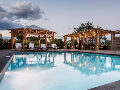 outdoor pool - hotel roanoke conference cntr,curio collection - roanoke, virginia, united states of america