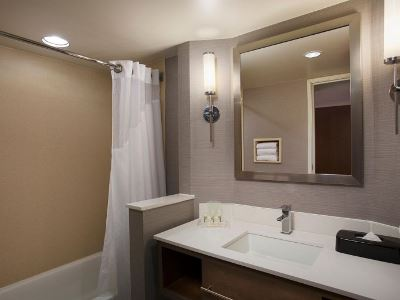 bathroom - hotel holiday inn grand rapids airport - kentwood, united states of america