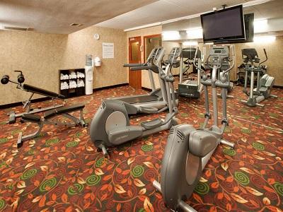 gym - hotel holiday inn austin conference center - austin, minnesota, united states of america