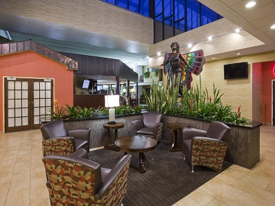 lobby - hotel holiday inn austin conference center - austin, minnesota, united states of america