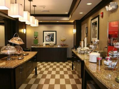 breakfast room - hotel hampton inn new albany - new albany, mississippi, united states of america