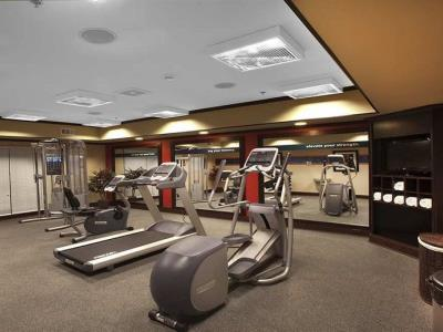 gym - hotel hampton inn new albany - new albany, mississippi, united states of america