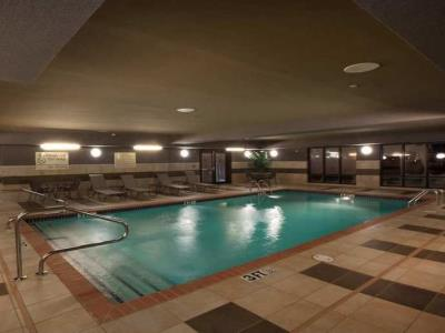 indoor pool - hotel hampton inn new albany - new albany, mississippi, united states of america