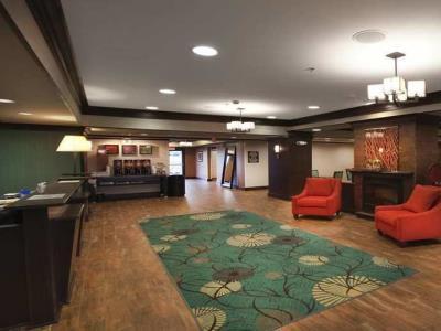 lobby 1 - hotel hampton inn new albany - new albany, mississippi, united states of america
