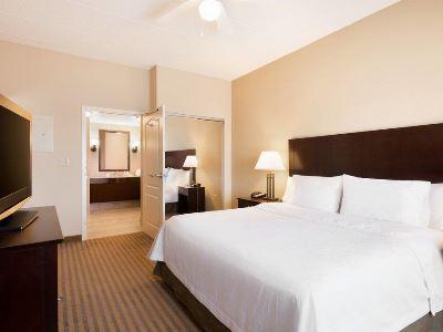 bedroom - hotel homewood suites minneapolis-new brighton - new brighton, united states of america