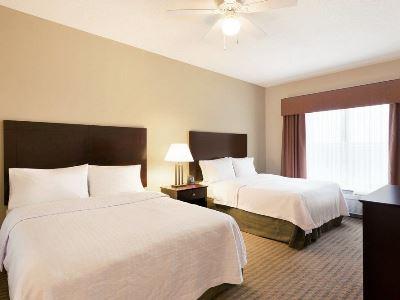 bedroom 1 - hotel homewood suites minneapolis-new brighton - new brighton, united states of america