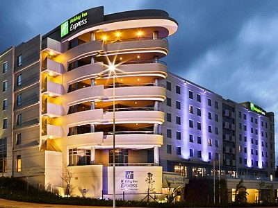 exterior view - hotel holiday inn express durban umhlanga - umhlanga, south africa
