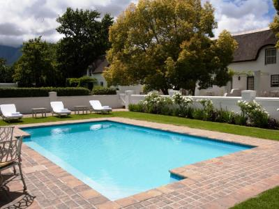 outdoor pool - hotel erinvale estate hotel and spa - somerset west, south africa
