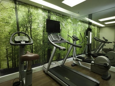 gym - hotel doubletree cape town - upper eastside - cape town, south africa