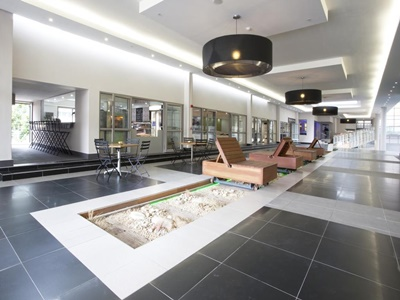 lobby - hotel doubletree cape town - upper eastside - cape town, south africa