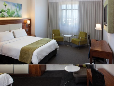 bedroom 4 - hotel doubletree cape town - upper eastside - cape town, south africa