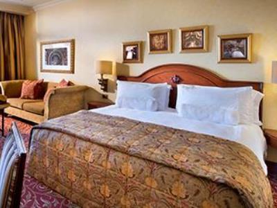 bedroom - hotel michelangelo - johannesburg, south africa