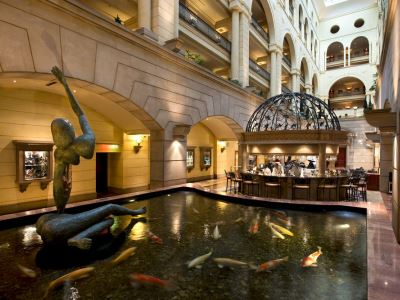 lobby - hotel michelangelo - johannesburg, south africa