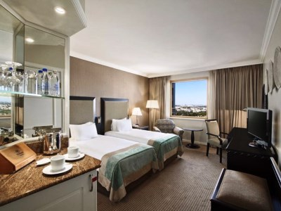 bedroom 3 - hotel hilton sandton - johannesburg, south africa