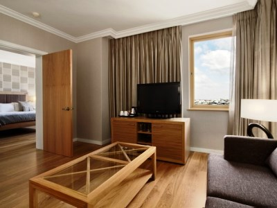 bedroom 5 - hotel hilton sandton - johannesburg, south africa