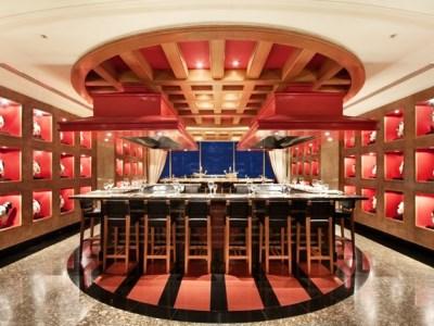 restaurant - hotel hilton sandton - johannesburg, south africa