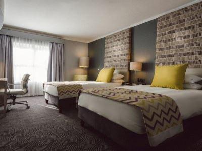 bedroom - hotel holiday inn johannesburg airport - johannesburg, south africa