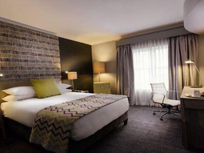 bedroom 1 - hotel holiday inn johannesburg airport - johannesburg, south africa