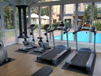 gym - hotel holiday inn johannesburg airport - johannesburg, south africa